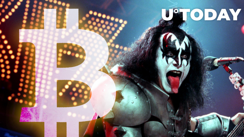 Kiss Frontman Gene Simmons Is Deep in Bitcoin, Shares His High BTC Bet