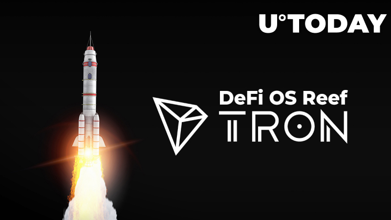 First-Ever Cross-Chain DeFi OS Reef to Launch on Tron (TRX)