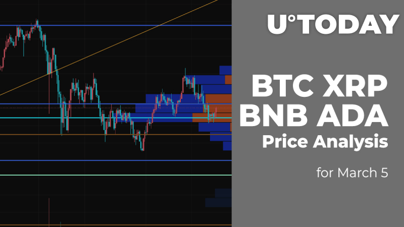 BTC, XRP, BNB and ADA Price Analysis for March 5