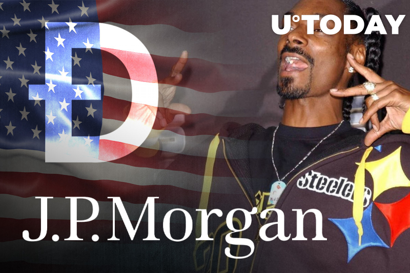 JP Morgan's Scary Prediction, Snoop Dogg Song on Dogecoin (DOGE), Gary Gensler's New Role: Top Three News by U.Today