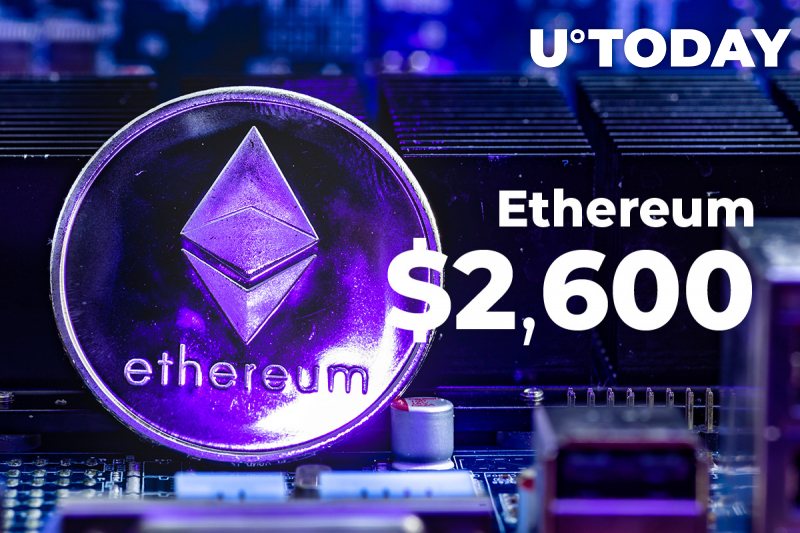 Key Reasons Why Ethereum Just Hit Fresh Record High Within an Inch of $2,600