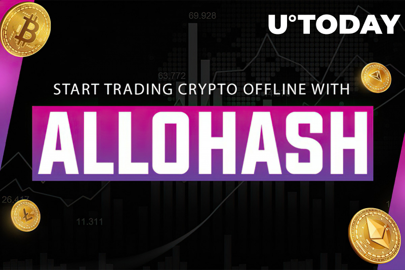 Start Trading Crypto Offline with  AlloHash