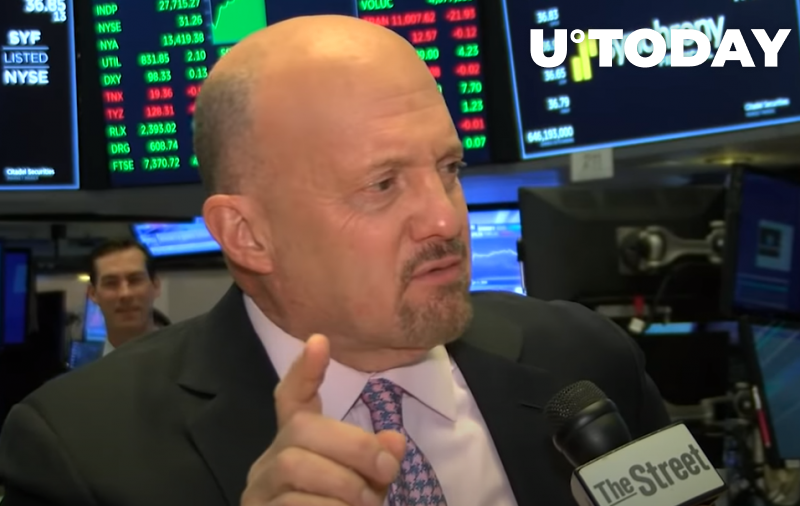 """CNBC's Jim Cramer on Dogecoin: """"I'm Not Gonna Do That One"""""""