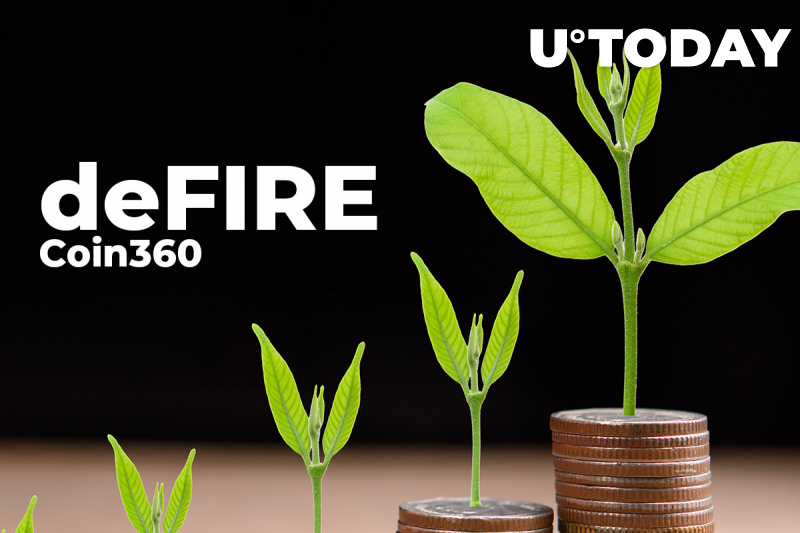 deFIRE Project Partners with Coin360 Aggregator After Successul Funding Round