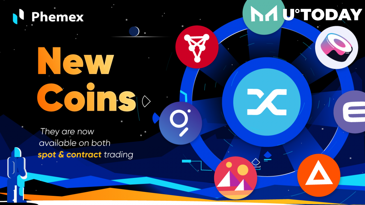 Phemex Brings Back XRP and Introduces 8 New Coins