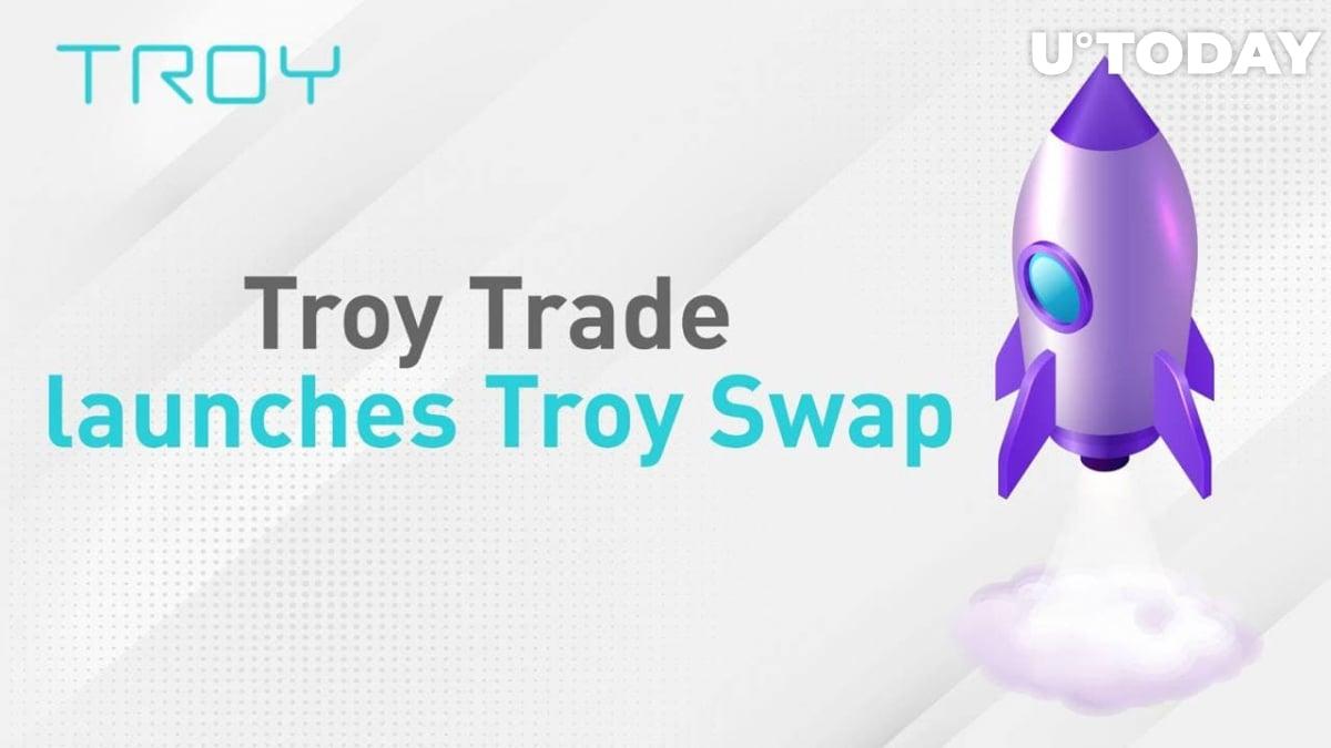 Leading Prime Brokerage Platform TroyTrade Launches DEX TroySwap