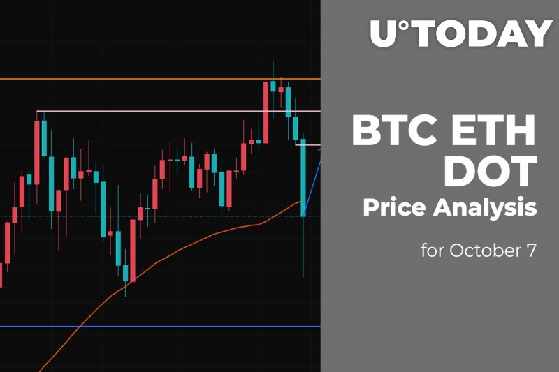 BTC, ETH and DOT Price Analysis for October 7