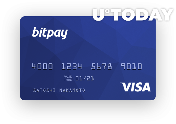 BitPay Visa Debit Card