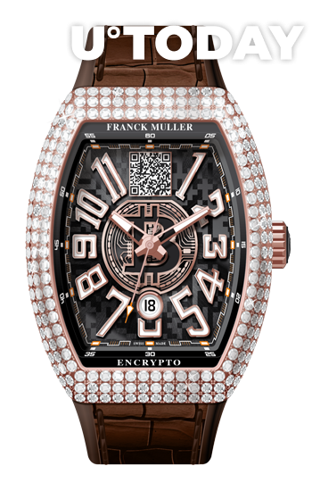 The most expensive Franck Muller 'crypto' watch