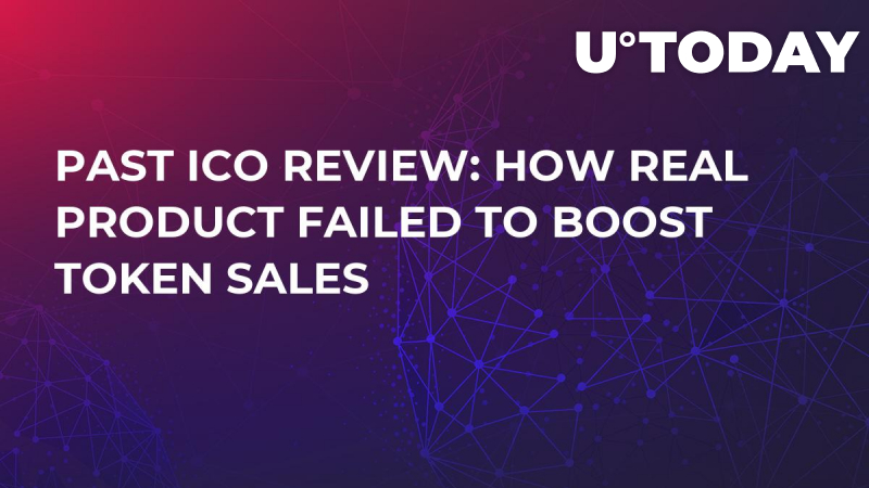 Past ICO Review: How Real Product Failed to Boost Token Sales