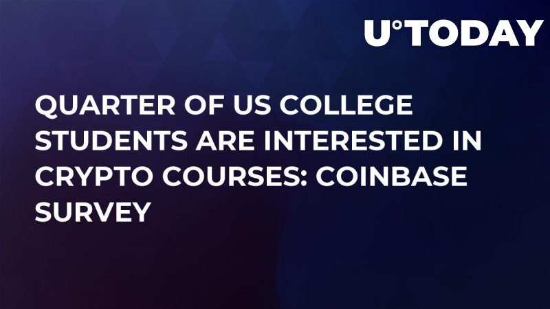 Quarter of US College Students Are Interested in Crypto Courses: Coinbase Survey