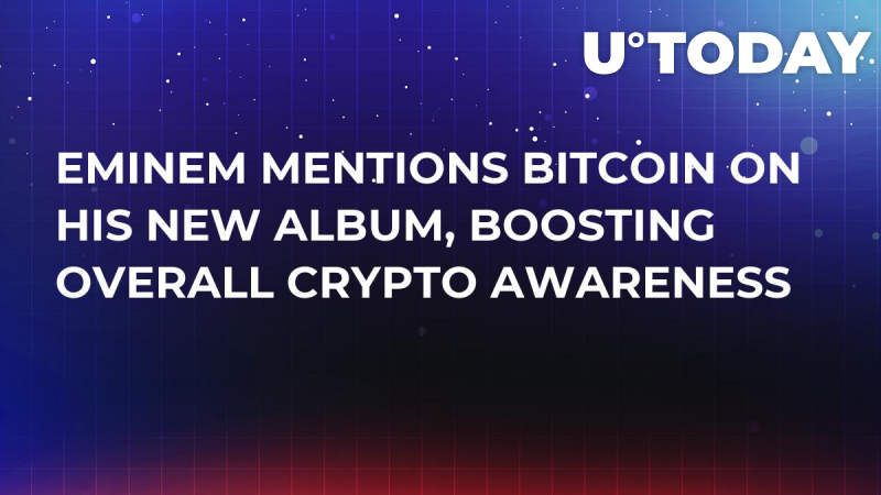 Eminem Mentions Bitcoin on His New Album, Boosting Overall Crypto Awareness