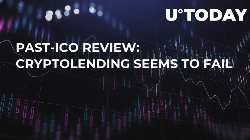 Past-ICO Review: Cryptolending seems to fail