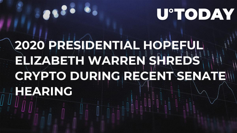 elizabeth warren cryptocurrency