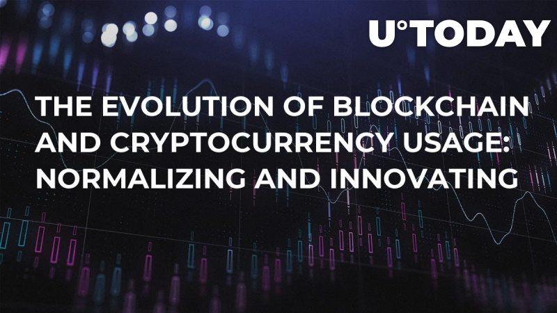 The Evolution of Blockchain and Cryptocurrency Usage: Normalizing and Innovating