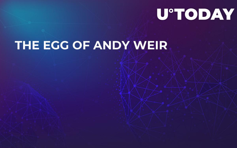 The Egg of Andy Weir