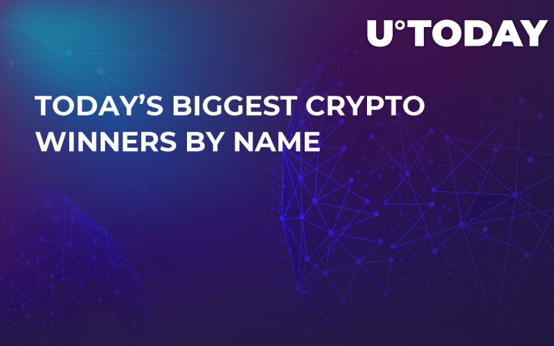 Today's Biggest Crypto Winners by Name