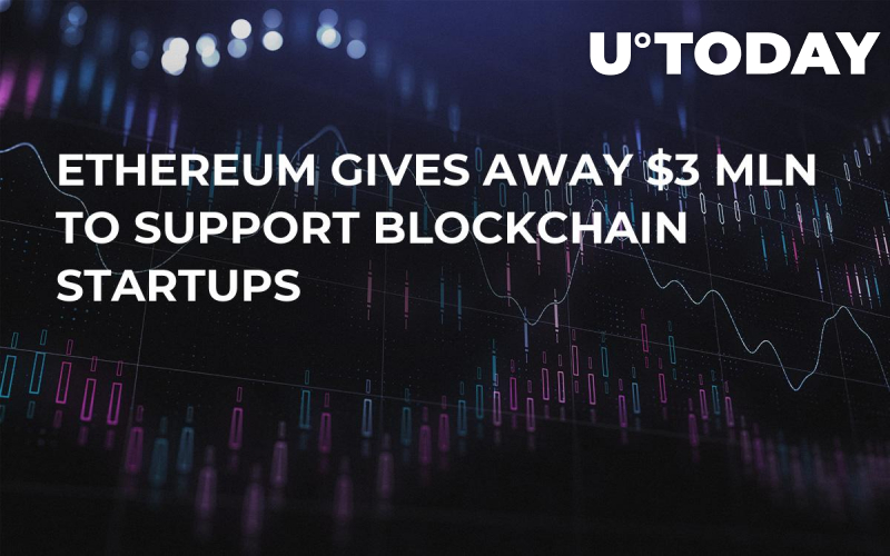 Ethereum Gives Away $3 Mln to Support Blockchain Startups