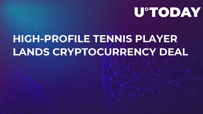 High-Profile Tennis Player Lands Cryptocurrency Deal