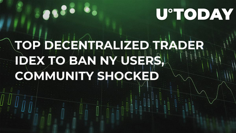 Top Decentralized Trader IDEX to Ban NY Users, Community Shocked