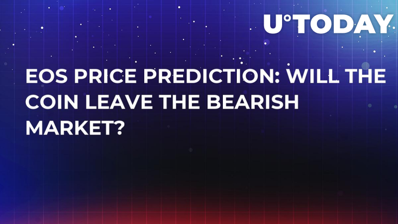 EOS Price Prediction: Will the Coin Leave the Bearish Market?