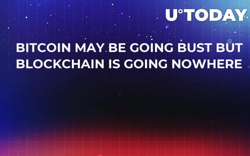 Bitcoin May Be Going Bust But Blockchain is Going Nowhere