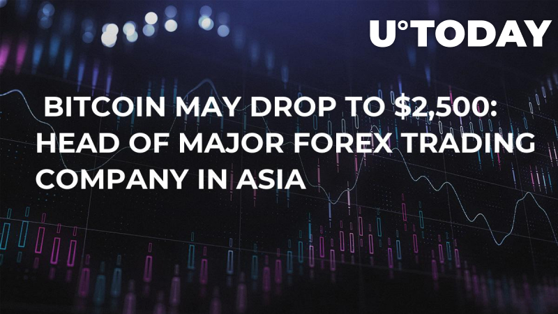 Bitcoin May Drop to $2,500: Head of Major Forex Trading Company in Asia