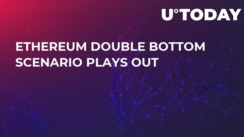 Ethereum Double Bottom Scenario Plays Out