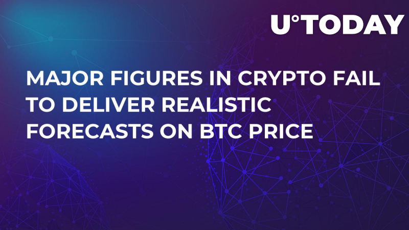 Major Figures in Crypto Fail to Deliver Realistic Forecasts on BTC Price