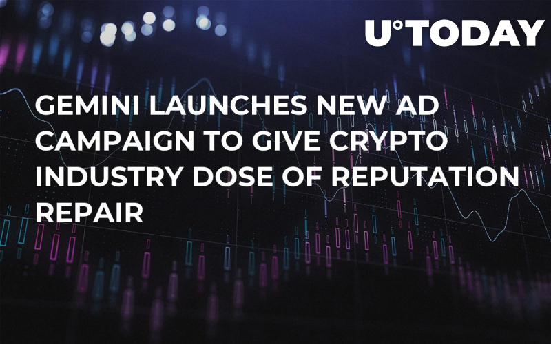 Gemini Launches New Ad Campaign to Give Crypto Industry Dose of Reputation Repair