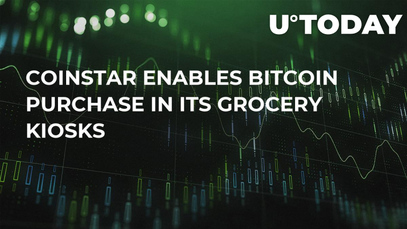Coinstar Enables Bitcoin Purchase in Its Grocery Kiosks