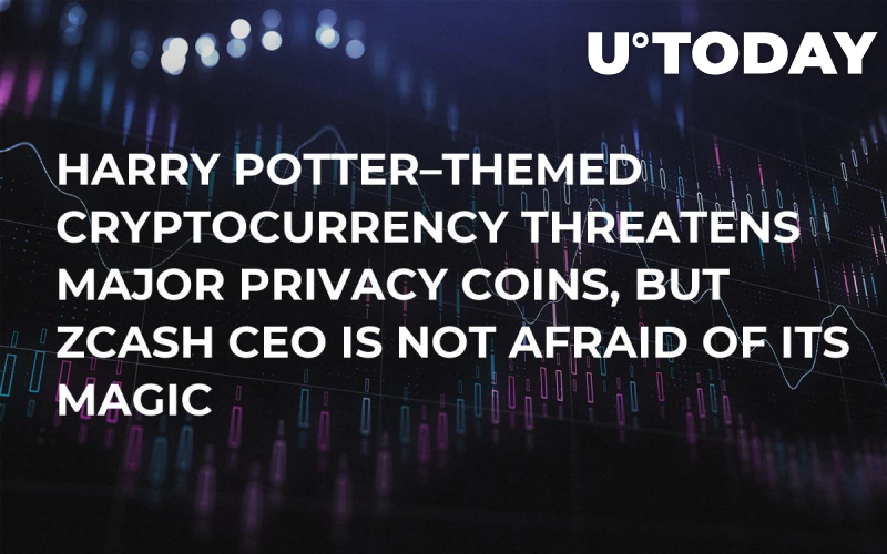 Harry Potter–Themed Cryptocurrency Threatens Major Privacy Coins, But Zcash CEO Is Not Afraid of Its Magic
