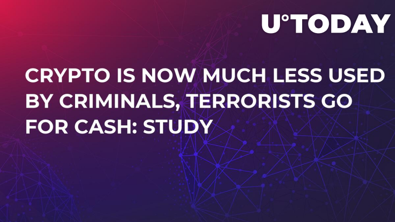 Crypto Is Now Much Less Used by Criminals, Terrorists Go for Cash: Study