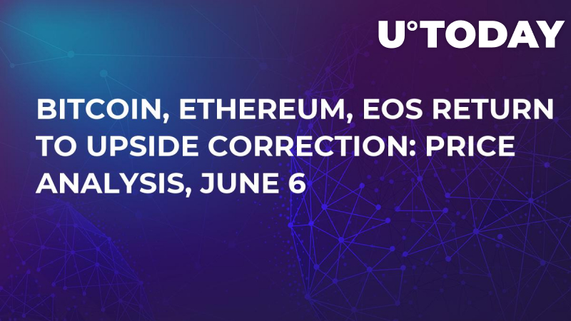 Bitcoin, Ethereum, EOS Return to Upside Correction: Price Analysis, June 6