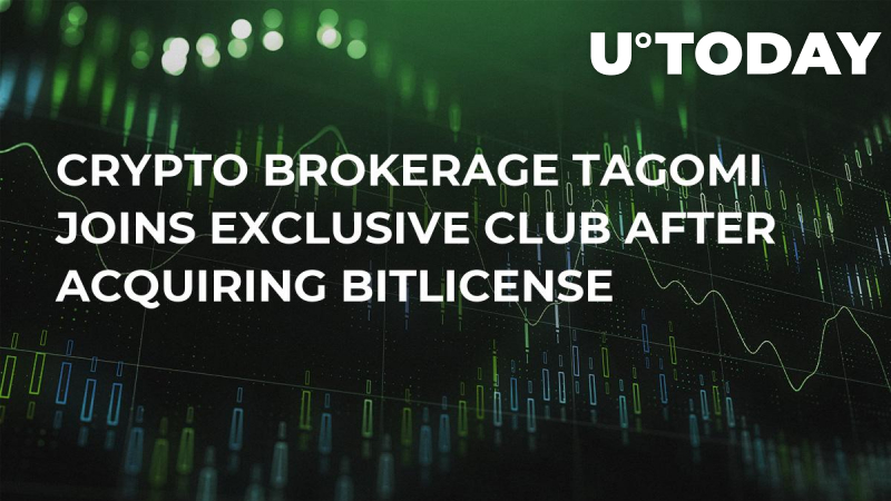 Crypto Brokerage Tagomi Joins Exclusive Club After Acquiring BitLicense