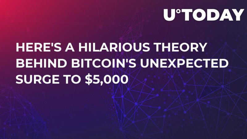 Here's a Hilarious Theory Behind Bitcoin's Unexpected Surge to $5,000