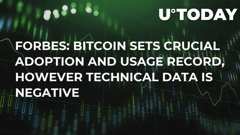 Forbes: Bitcoin Sets Crucial Adoption and Usage Record, However Technical Data Is Negative