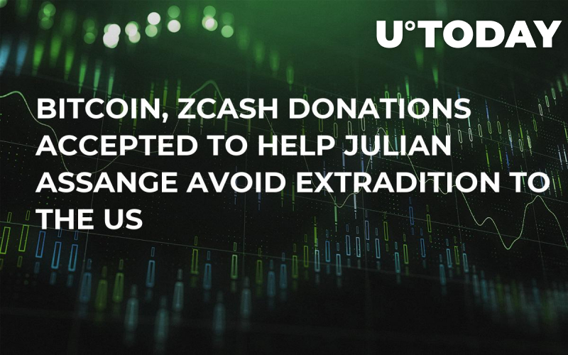 Bitcoin, Zcash Donations Accepted to Help Julian Assange Avoid Extradition to the US