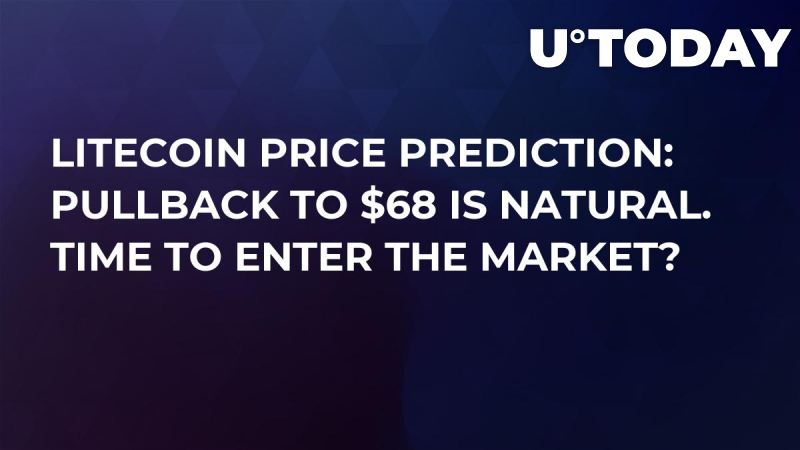 Litecoin Price Prediction: Pullback to $68 Is Natural. Time to Enter the Market?
