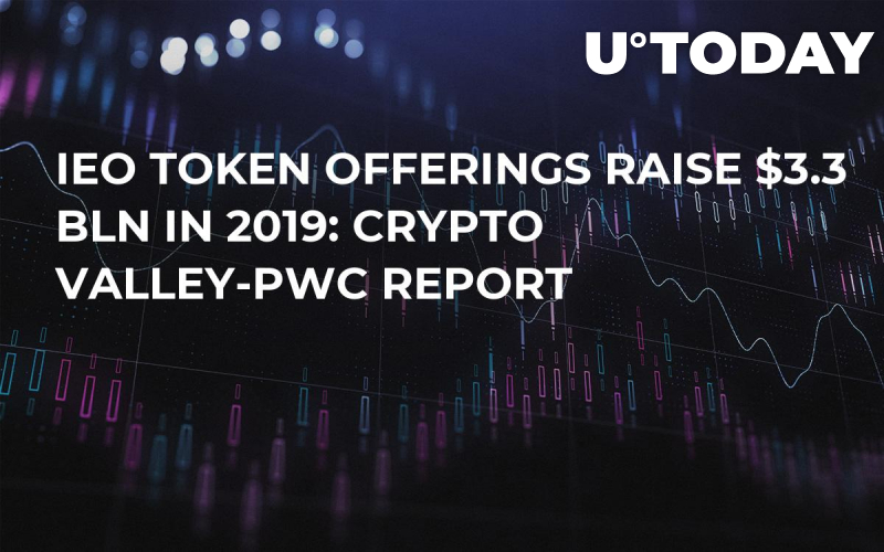 IEO Token Offerings Raise $3.3 Bln in 2019: Crypto Valley-PwC Report