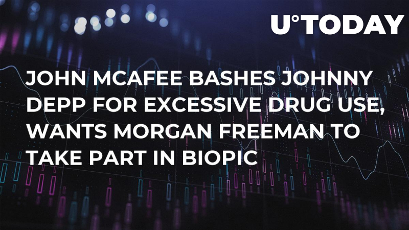 John McAfee Bashes Johnny Depp for Excessive Drug Use, Wants Morgan Freeman to Take Part in Biopic