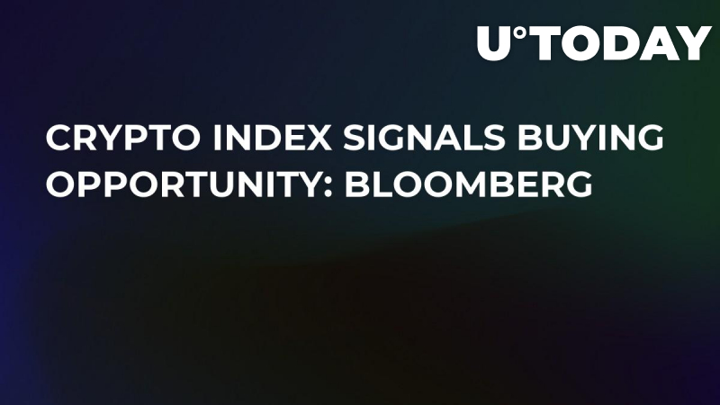 Crypto Index Signals Buying Opportunity: Bloomberg
