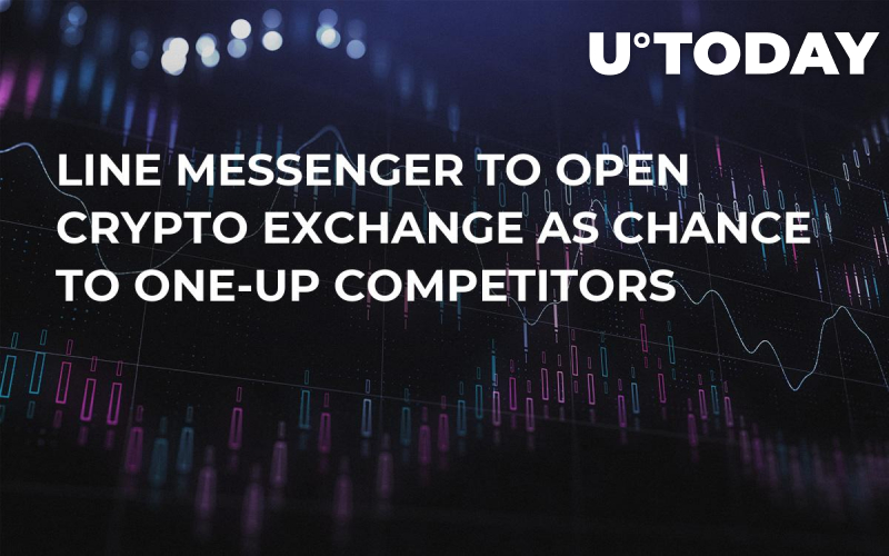 Line Messenger to Open Crypto Exchange as Chance to One-Up Competitors