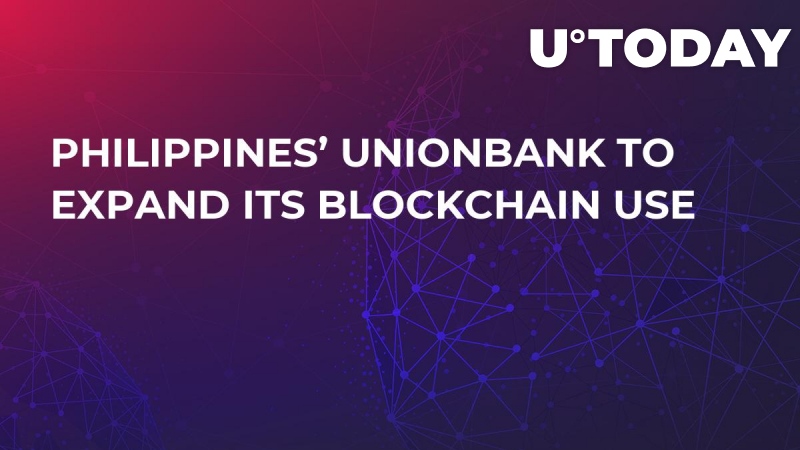 Philippines' UnionBank to Expand Its Blockchain Use