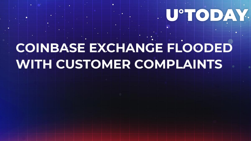 Coinbase Exchange Flooded with Customer Complaints