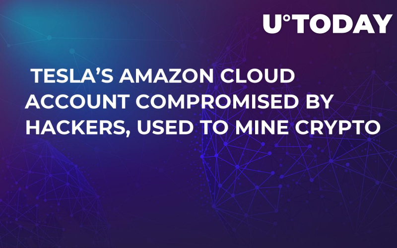 Tesla's Amazon Cloud Account Compromised by Hackers, Used to Mine Crypto