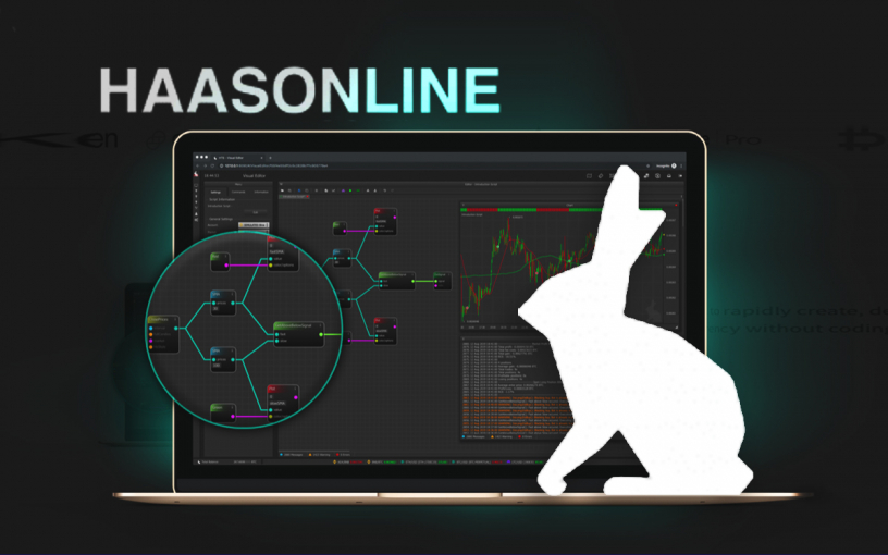HaasOnline Announces a Drag-and-Drop Visual Editor That Allows Crypto Algorithms to be Created without Coding