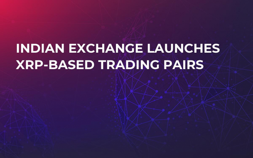 Indian Exchange Launches XRP-Based Trading Pairs