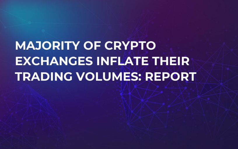 Majority of Crypto Exchanges Inflate Their Trading Volumes: Report