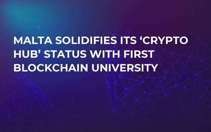 Malta Solidifies Its 'Crypto Hub' Status With First Blockchain University